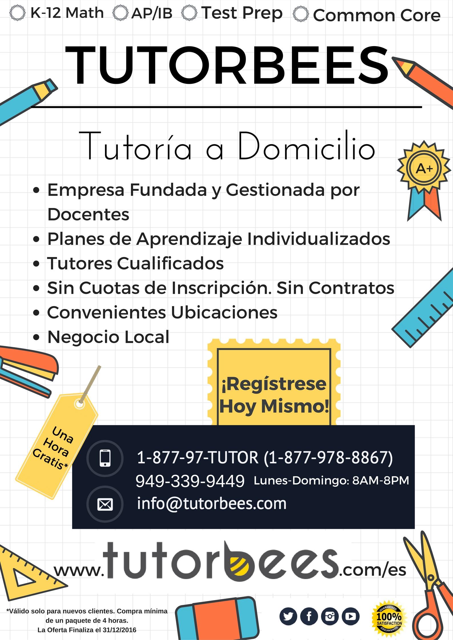 tutoring offer